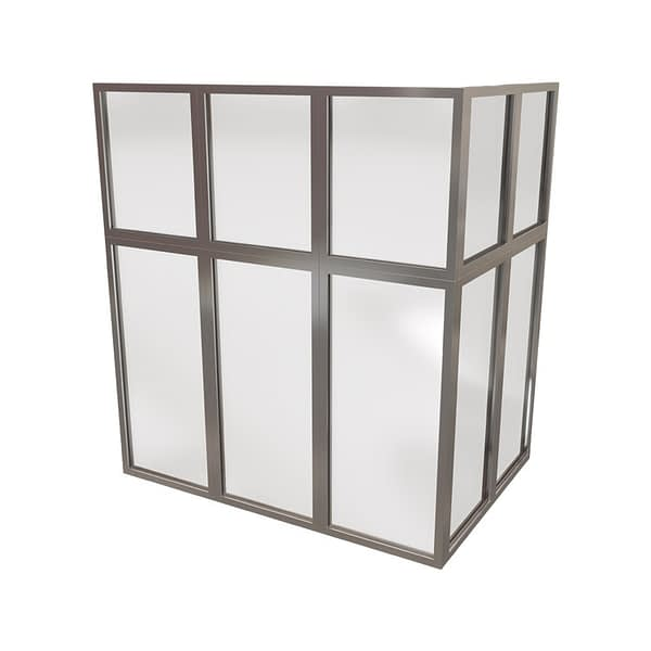 Security Glazed Partitioning
